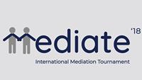 """09.11.2018 – Ганна Гаро виступила одним із суддів Міжнародного турніру з медіації """"Mediate'18"""""""